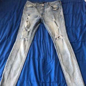 Pacsun denim skinny jeans